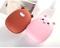 hot selling rechargeable cute hand warmer/warm hands portable winter power bank
