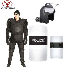 Used in prison force control police riot suit