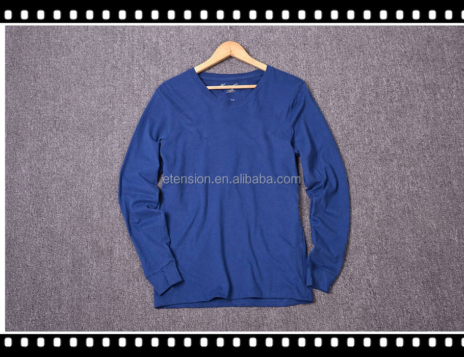 High Quality Long Sleeves T Shirt For Mens With OEM Sevice
