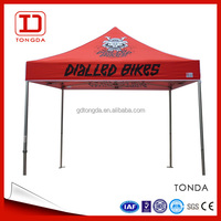 2016 hot sale digital printing advertising canopy tent