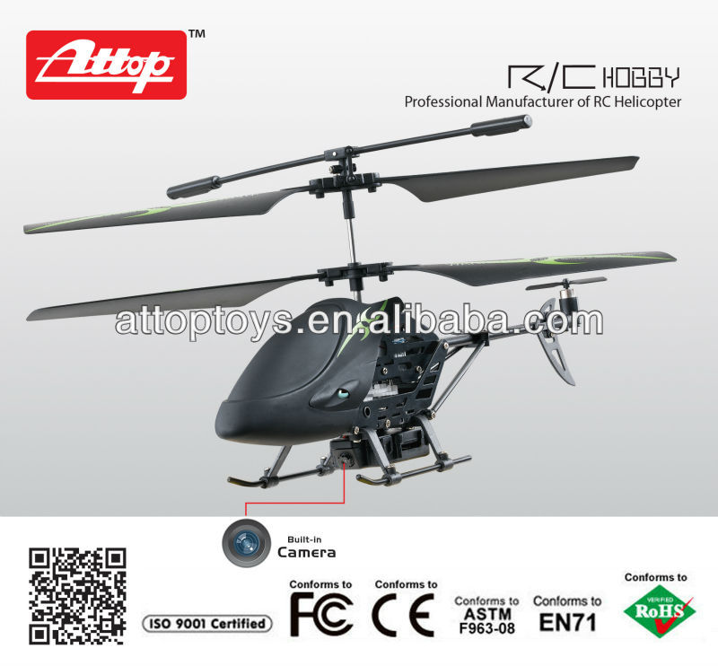 Attop 3.5channel infrared remote control helicopter with camera