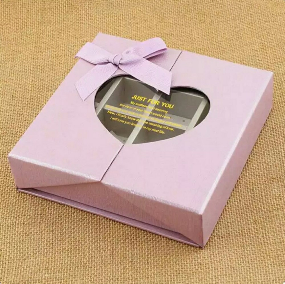 Innovative designed luxury paper chocolate box, chocolate packaging box