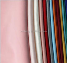 2017 New style fashion cotton spandex fabrics wholesale custom shirting woven cheap satin fabric