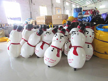 6' customize Inflatable Moving Cartoons Christmas decor Inflatable pvc snowman