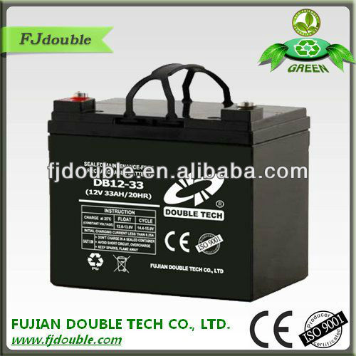 superior power tools batteries , vrla battery 12v 33ah made in China