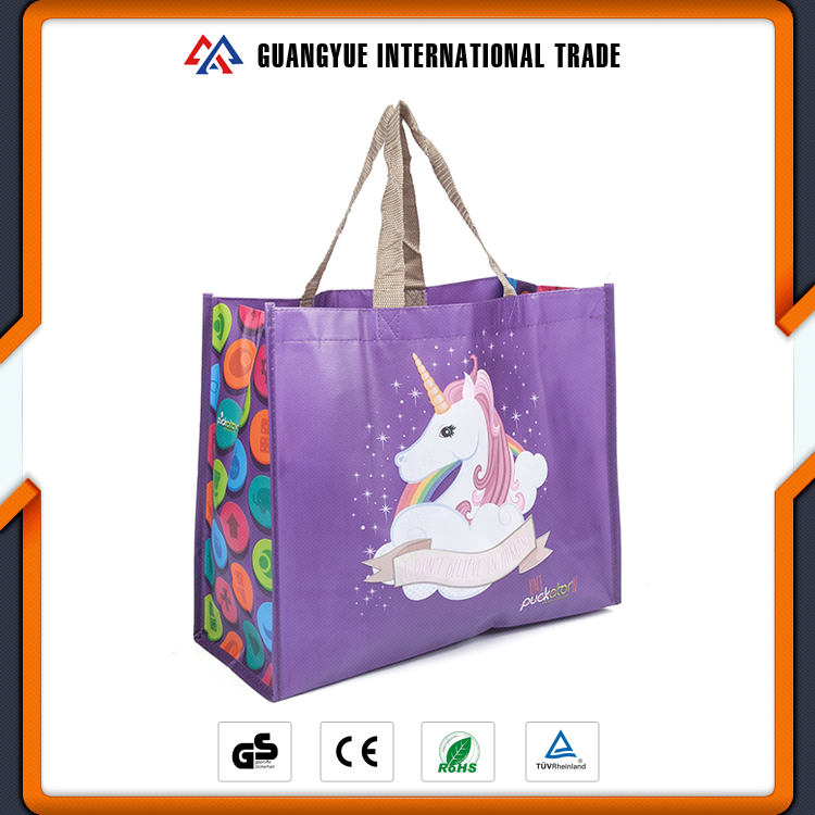 Guangyue Looking For Agents To Distribute Our Products Laminated Shopping Promotion Non Woven Bag