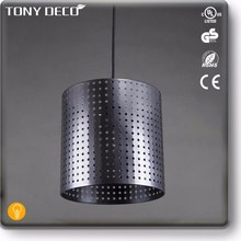 Famous Shining Silver Metal Hang Light Lamp Designers
