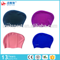silicone swimming cap ladies long hair swim hat