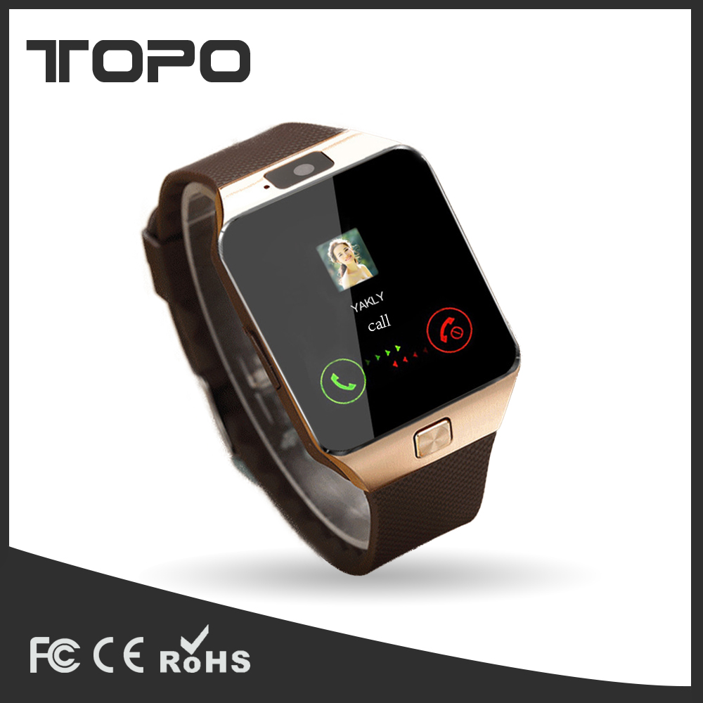 Anti-Lost GPS Remote Positioning dz09 Sports Watch with Touch Screen calling smart watch