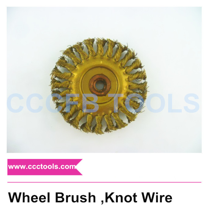Wheel Brush ,Knot Wire non sparking tools brush