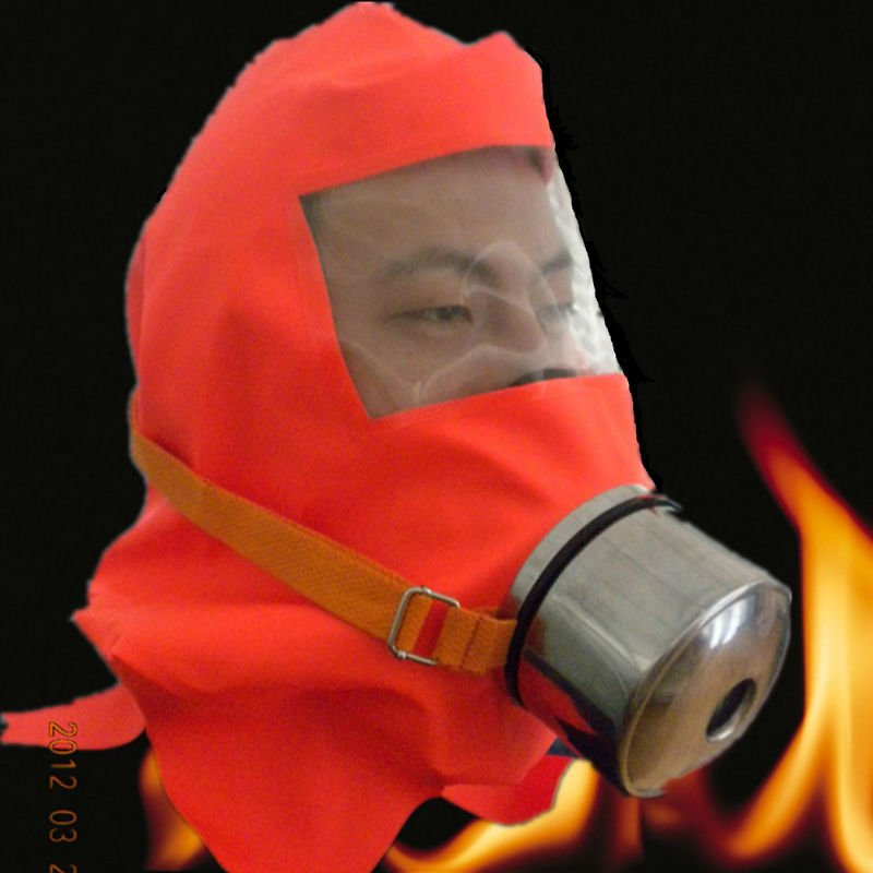 Fire escape smoke full face gas custom respirator mask