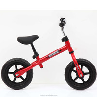 "2017 new model best kids balance bike / 12"" mini baby balance bicycle / cheap children balance bike with custom logo for sale"
