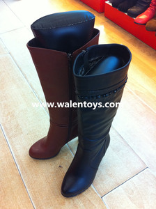 Promotional pvc inflatable boot shapers for ladies boots