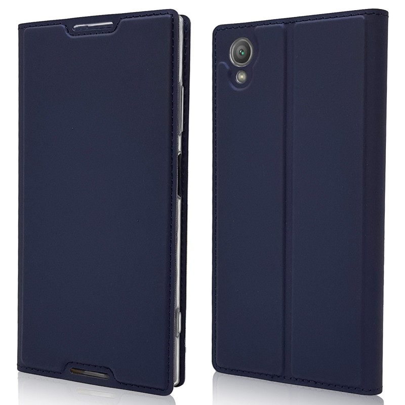 Cell Phone Case Luxury Business Leather Magnetic Flip Cover For Sony Xperia XA1 Plus Case