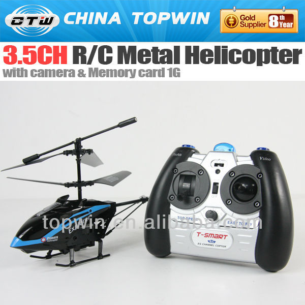 3.5ch R/C metal helicopter with camera )plastic rc helicopter blade balancer
