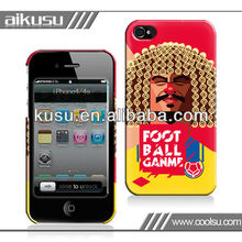 custom case for iphone 4s with PC,TPU and ABS material