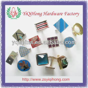 metal custom cufflinks wholesale