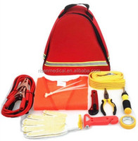 Auto roadside emergency car safety kit