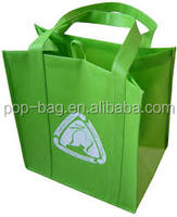 non woven silk bag for shopping, promotion cheap price high quality