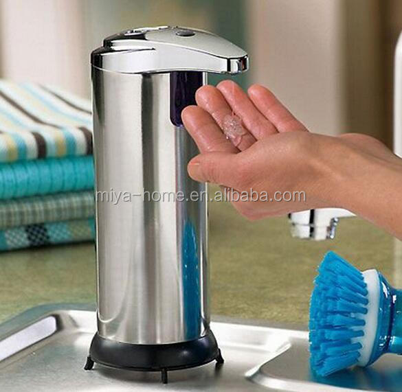 High quality stainless stell soap dispenser / automatic soap dispenser /infra red soap dispenser