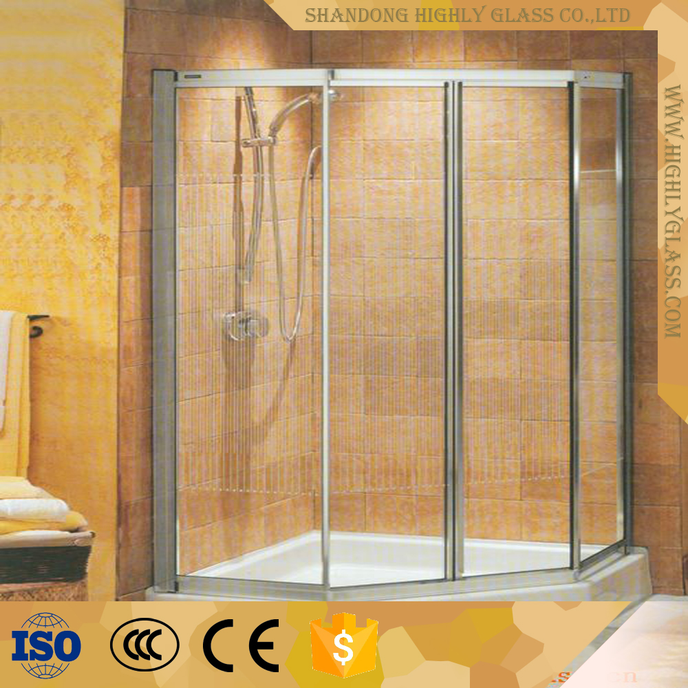 Steam shower room with shower bathroom cabin tempered glass