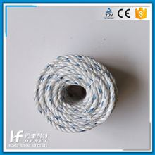 High 3-Strand Twisted Jute Rope Polyester Kuralon Twine