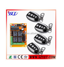 Universal 315/433mhz 4buttons wireless rf clone code copying remote control