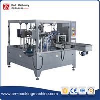Packing Machine Zipper Lock Filling Sealing Machine