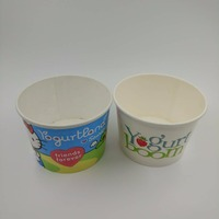 Custom Logo Printing Disposable Ice Cream