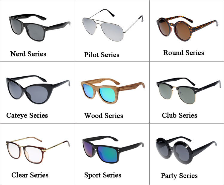 Bamboo and wooden sunglasses custom logo free high quality custom wood sun glaases natural eyewear wholesale China