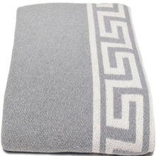 SZPLH Greek key picnic blanket and adult tv blanket and air conditioner blanket