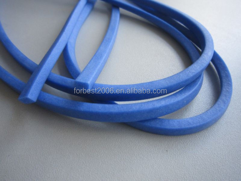 spliced Silicone foam o-rings/silicone sponge o-ring