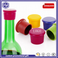 new model promotion gifts customized OEM silicone sleeve bottle stopper opener gift set