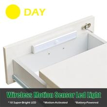 150lm 5M Induction PIR Motion Sensor Battery Powered Stick-Anywhere Stair Cabinet Wardrobe Refrigerator Indoor LED Light