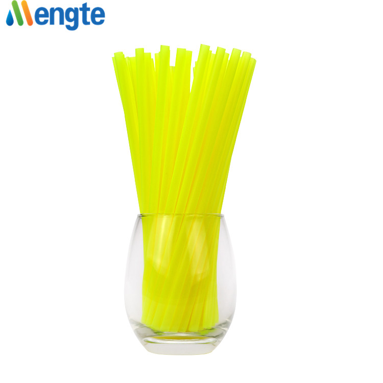 eco-friendly juice/cocktail/coffee reusable drinking straw pla bio degradable plastic drinking straw