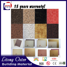 Aluminum trailer wall panels wooden grain texture aluminum composite panel for decoration