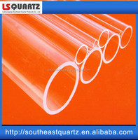 Quartz precision ground OD tubing for compression type fittings