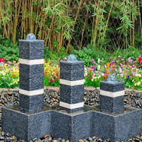Garden Water Fountains Rotating Granite Ball Fountain