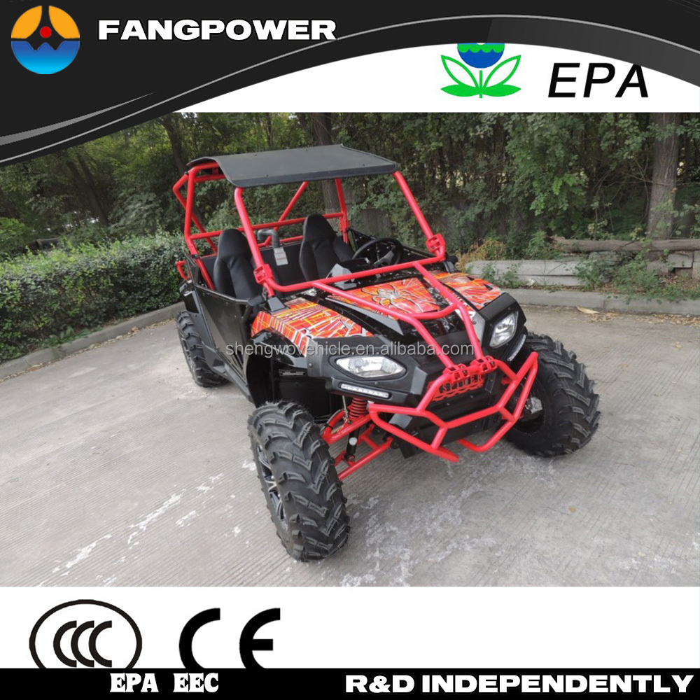 EPA approval double seat air/oil cooling automatic utv 250cc