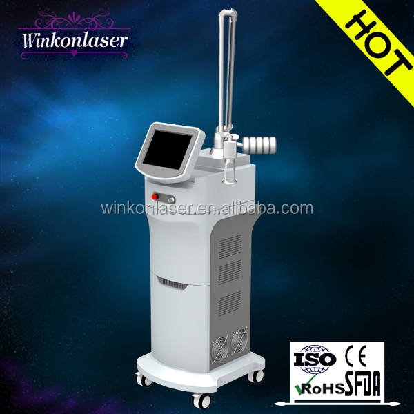 fractional laser co2 laser focus lens/ wrinkle removal co2 laser/ laser co2