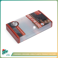 JUNDA Best-Selling Accessory And Business Card Pp Pet Pvc Plastic Boxes Wholesale