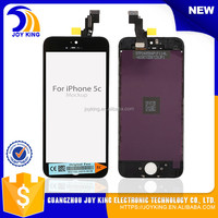 Replacement digitizer lcd touch screen for iphone 5+Touch digitizer+ Frame assembly complete for iPhone5c