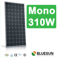 China made high quality competitive price monocrystalline pv solar panel 310w