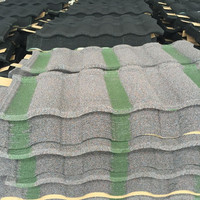 Color Coated Corrugated Steel Roofing Sheets / Roofing Tiles