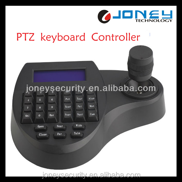 RS485 ptz controller LCD with back-light high quality Keyboard controller