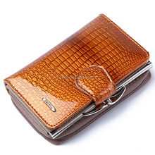 Wholesale Blocking Large Capacity Genuine Leather Clutch Wallet Card Holder Organizer Ladies Purse,Best Gift