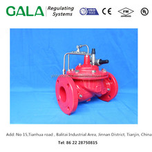 China top supplier high quality GALA 1350 hydraulically operated Pressure Sustaining/Relief Valve for water