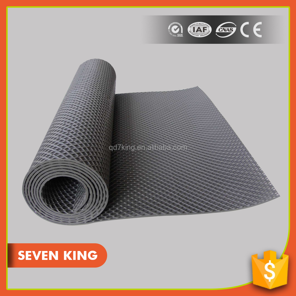 100% factory supply reduce fatigue recycled rubber granules soft floor mat for workshop