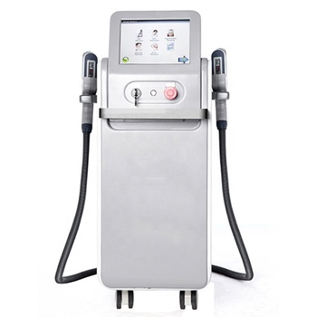 10.4 Inch color touch screen ipl shr face hair removal machine