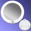 6.5 inch Lighted wall mirror lighted make up mirror led bathroom mirror